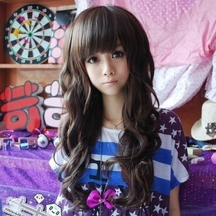 Perruque Rushed Hairstyle Anime Cosplay Synthetic Lace Front 2015