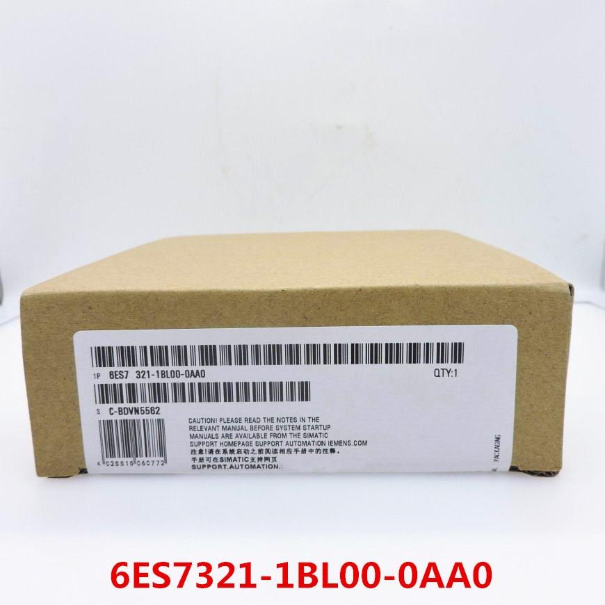 100 Originla New 2 years warranty 6ES7321 1BL00 0AA0 PLC module SM321 6ES7 321 1BLOO OAAO