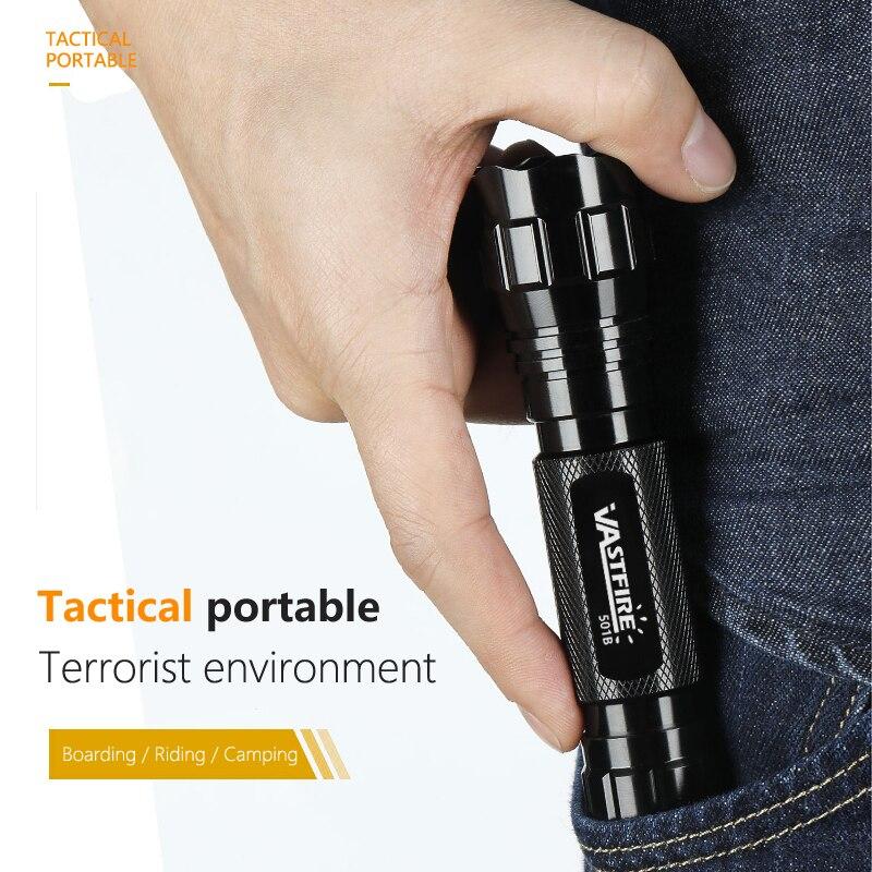 Tactical 2000LM 1 Mode XPE LED WF-501B Flashlight Torch Lamp Hunting UV Gun Light