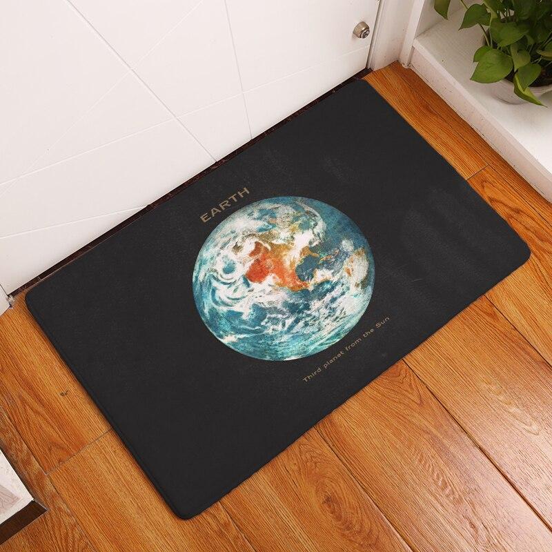 Nieuwe deurmat Tapijten Satelliet Modern Print Matten Vloer Keuken - Thuis textiel