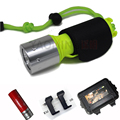 Led Diving light set CREE XM-L T6 2300LM led lantern lamp rechargeable 18650 battery + charger underwater dive scuba flashlight
