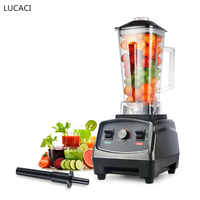 BPA Free Heavy Duty Commercial Blender Mixer Juicer High Power Food Processor Ice Smoothie Bar Fruit Electric Blender