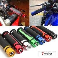 7 8 Motorcycle Anti Skid Handle Grips Grips End Cnc 22mm For Suzuki Gsxr 750 Bandit