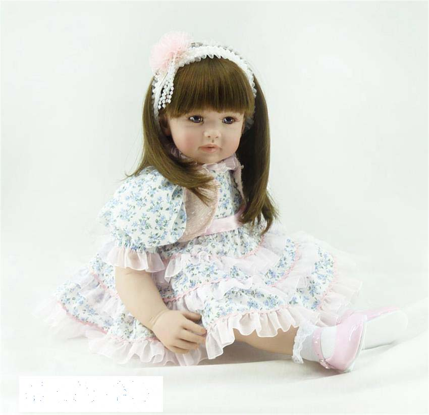 Pursue 24/ 60 cm Fashion Baby Alive Doll Reborn Silicone Toddler Baby Doll Toys for Kids Girl Have Fun Toys Christmas Gift Doll pursue 24 60 cm adorable lifelike baby alive silicone reborn toddler baby girl doll pink princess girl doll toys for girl gifts