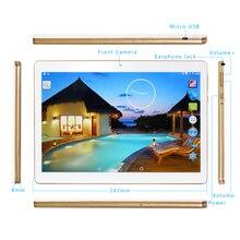 Новое поступление золота K107 сенсорный экран Android 5.1 Tablette 1 ГБ + 16 ГБ quad-core с двойной Камера разблокирована dual sim карт
