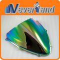 New Motorcycle Windscreen Windshield Double Bubble for SUZUKI GSXR 600/750 K6 2006 2007 Iridium#60 C10 Wholesale