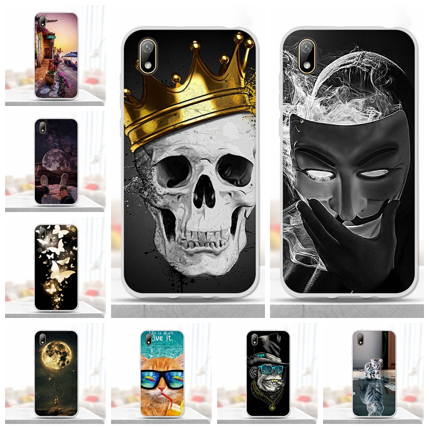 For Huawei Y5 2019 Case Huawei Y5 2019 Y52019 Silicon TPU Cover Soft Phone Case For Huawei Honor 8S 8 S KSE-LX9 Back Cover Funda