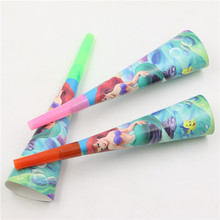 Mermaid Design Noisemakers 12 pcs/lot