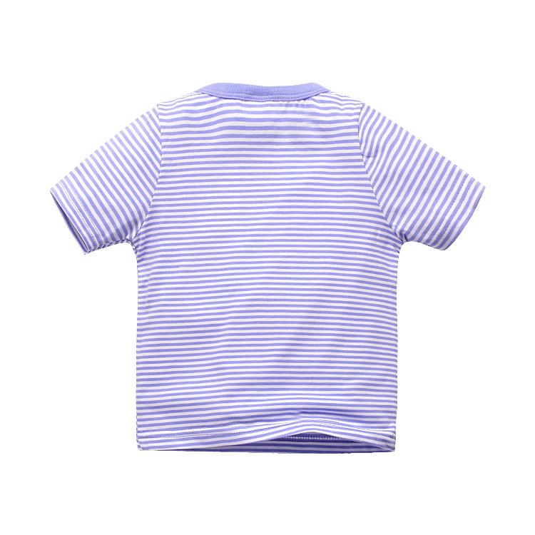 HTB1nB2iPVXXXXXvaFXXq6xXFXXXj - 1-6T 100% Cotton Kids Baby T-shirt Tops Boys Girls Tee Striped T Shirt Children Tshirt Toddlers Baby Clothing 2017 Child Clothes