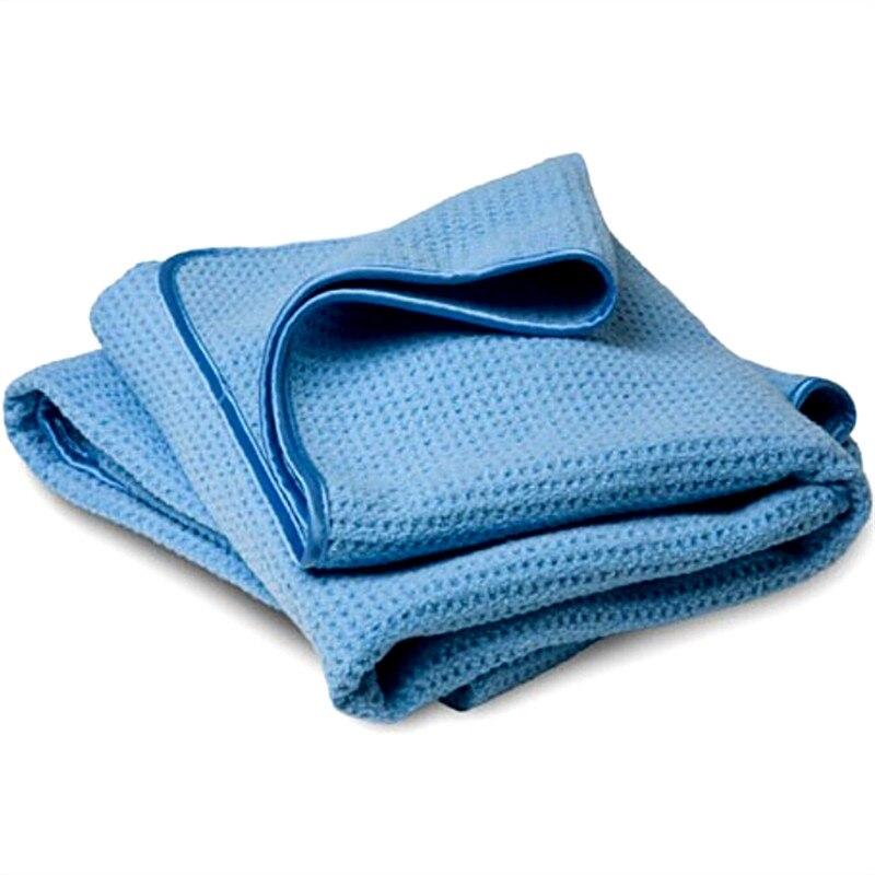 40x60cm 400gsm Microfibre Car Detailing Towel,Microfiber Waffle Weave Towel,Window Glass Drying Towel