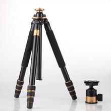 Q1000 Tripé Fotográfico Profissional Para Câmera SLR Tripé + Bola Cabeça do Hight 1630 MM Frete Grátis