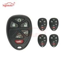 kigoauto 5pcs Remote car key fob case 6 button OUC60270 OUC60221 for GMC Yukon 2008 2009 2010 2011 2012 for 2001 2002 gmc yukon xl 1500 yukon xl 2500 6 0l 8 1l oxygen sensor gl 24103 234 4103 12563345 12563346
