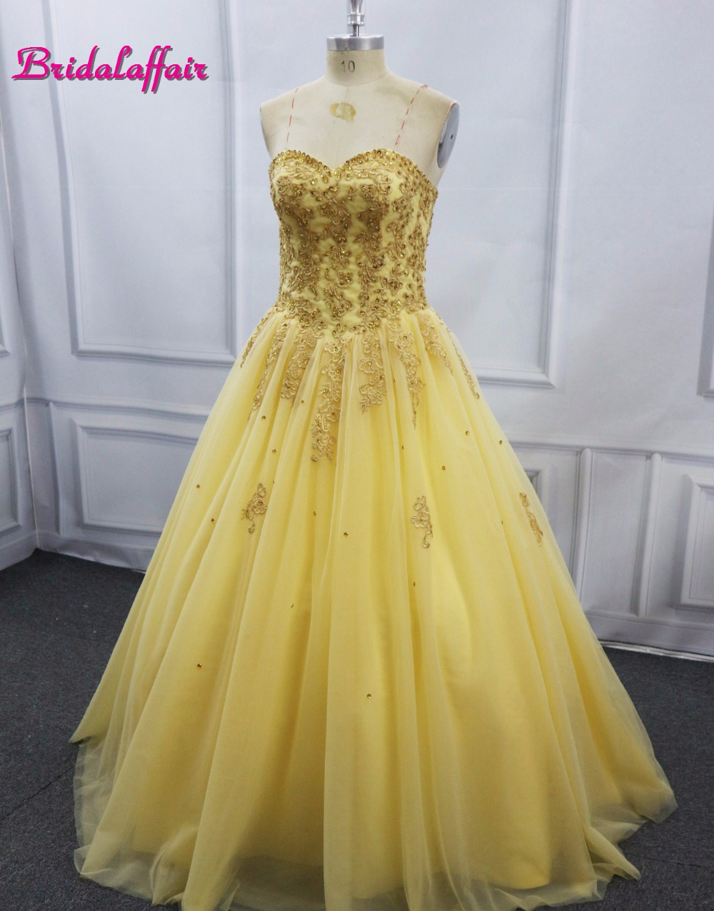 Real Photo Puffy Wedding Dress Ball Gown Appliques Beaded Lace Up Jacket Luxury Bridal Dresses 2017 video Christmas party dress
