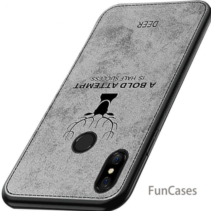С принтом в виде оленя, мягкая ткань, защитный чехол для телефона для Xiaomi 8 lite 6X A2 Pocophone F1 для Redmi A2 Lite 6 6A 6Pro примечание 6 5 Чехол