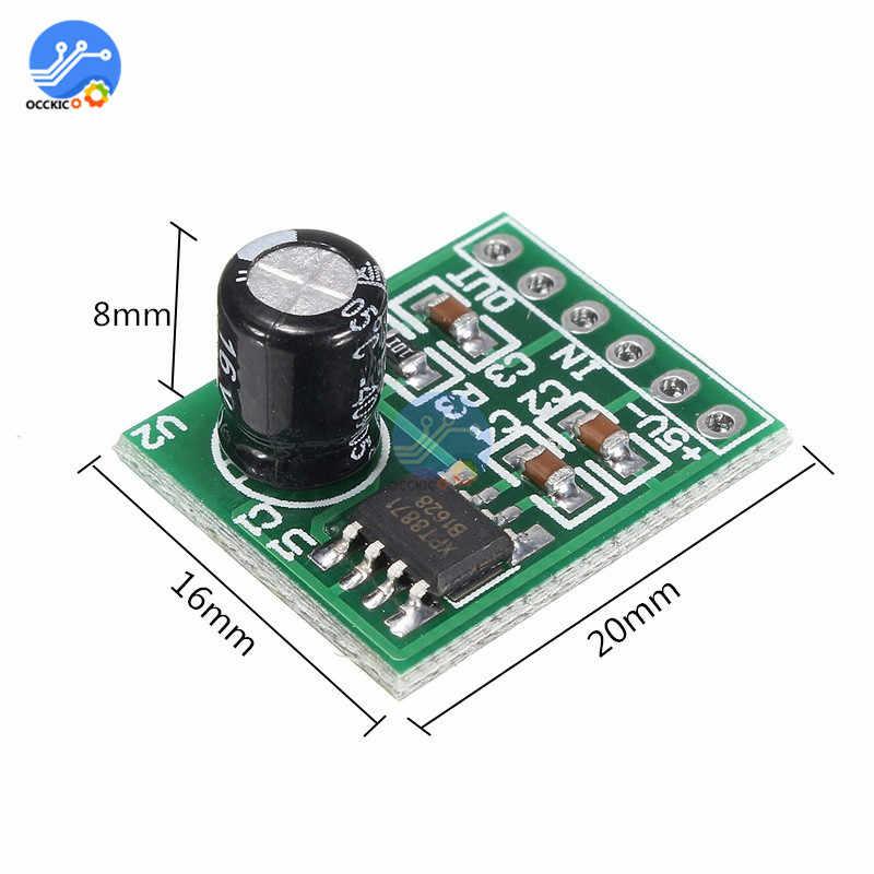 XH-M125 XPT8871 carte amplificateur Mono cc 5V 1A 5W Audio Placa Amplificador Mini haut-parleur carte son contrôle du Volume