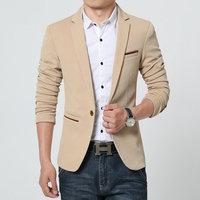 4 Colors Hight Quality Mens Blazers Jacket New Arrivals 2015 3XL 4XL 5XL 6XL Masculino One