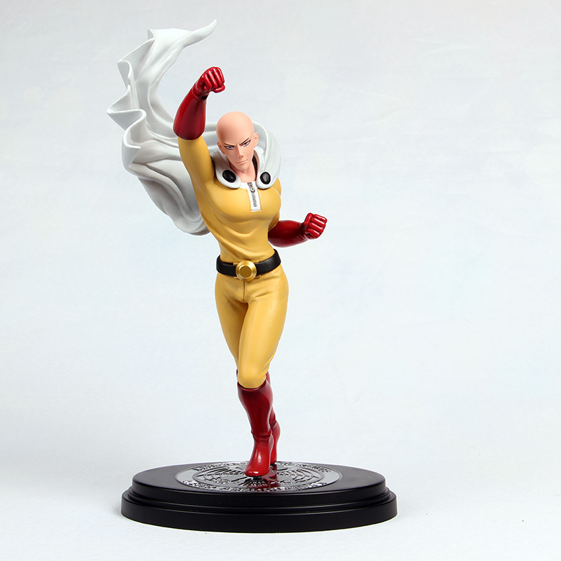 26cm ONE PUNCH MAN Saitama Anime Cartoon Action Figure PVC toys Collection figures for friends gifts grammar practice for intermediate students with key cd