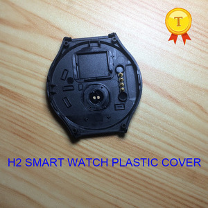 Image 3 - מקורי h2 smartwatch שעוני יד smart watch שעה שעון שעון פלסטיק blackcover שחור כיסוי מקרה רצועת חגורת עבור h2 החכם