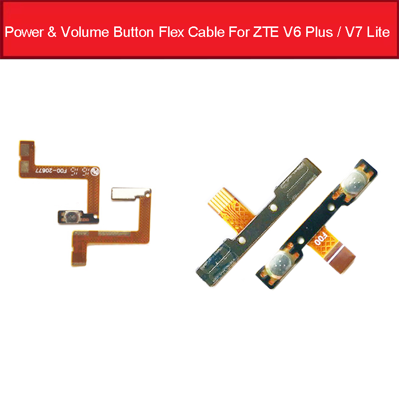 Power & Volume Side Button Flex Cable For ZTE Blade V6 Plus / V7 Lite Volume Power Switch Flex Ribbon Replacement Parts