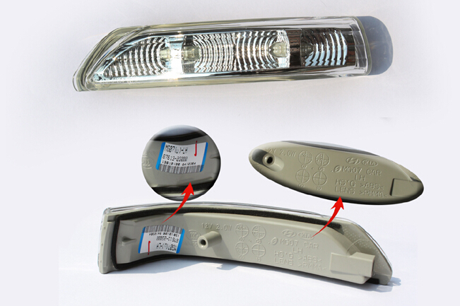 LED rear view side mirror lamp side turn signals indicator OEM part top quality fast shipping for Hyundai IX35