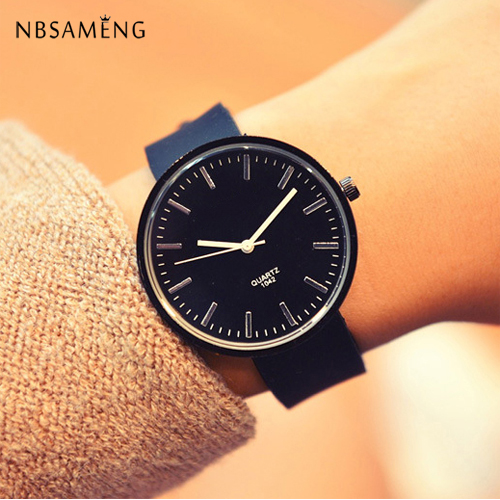 2017 Hot Sale Geneva Brand Silicone Jelly Casual Watches Women Ladies Dress Quartz Wrist Watch Relogio Feminino 5 Colors 2016 new fashion geneva women watch diamonds dress ladies casual quartz watch leather wrist women watches brand relogio feminino
