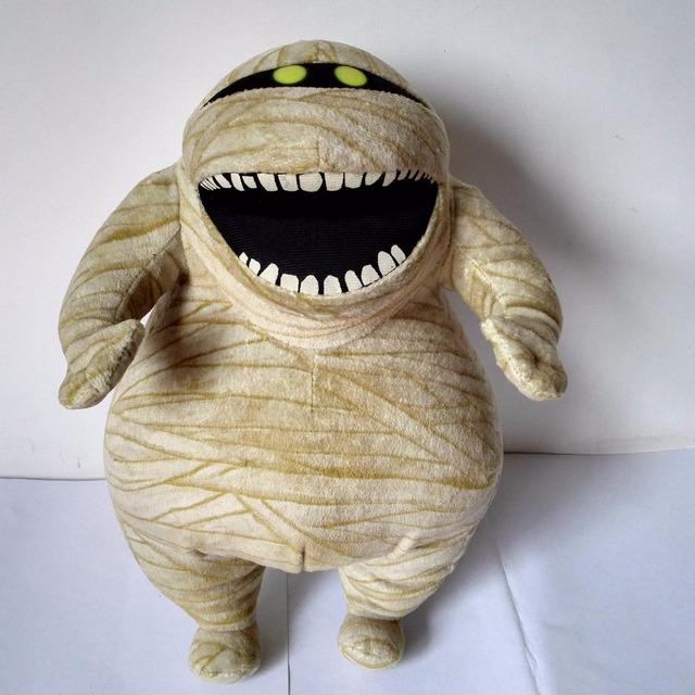 30 cm lindo Hotel transilvania zombie muñeca de juguete mummy algodón relleno kids muñeca de juguete niños perfect navidad de cumpleaños regalo caliente
