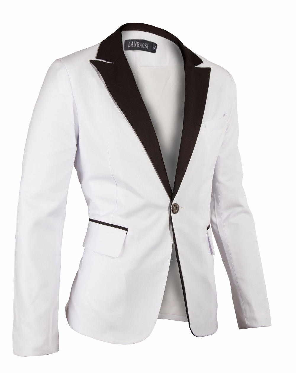 White stylish blazer for men forecast dress in spring in 2019