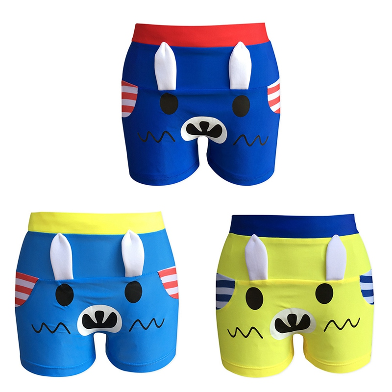 Swimming-Trunks Swimsuit Fish-Printed Children New for Boys Baby 3-Color Kids