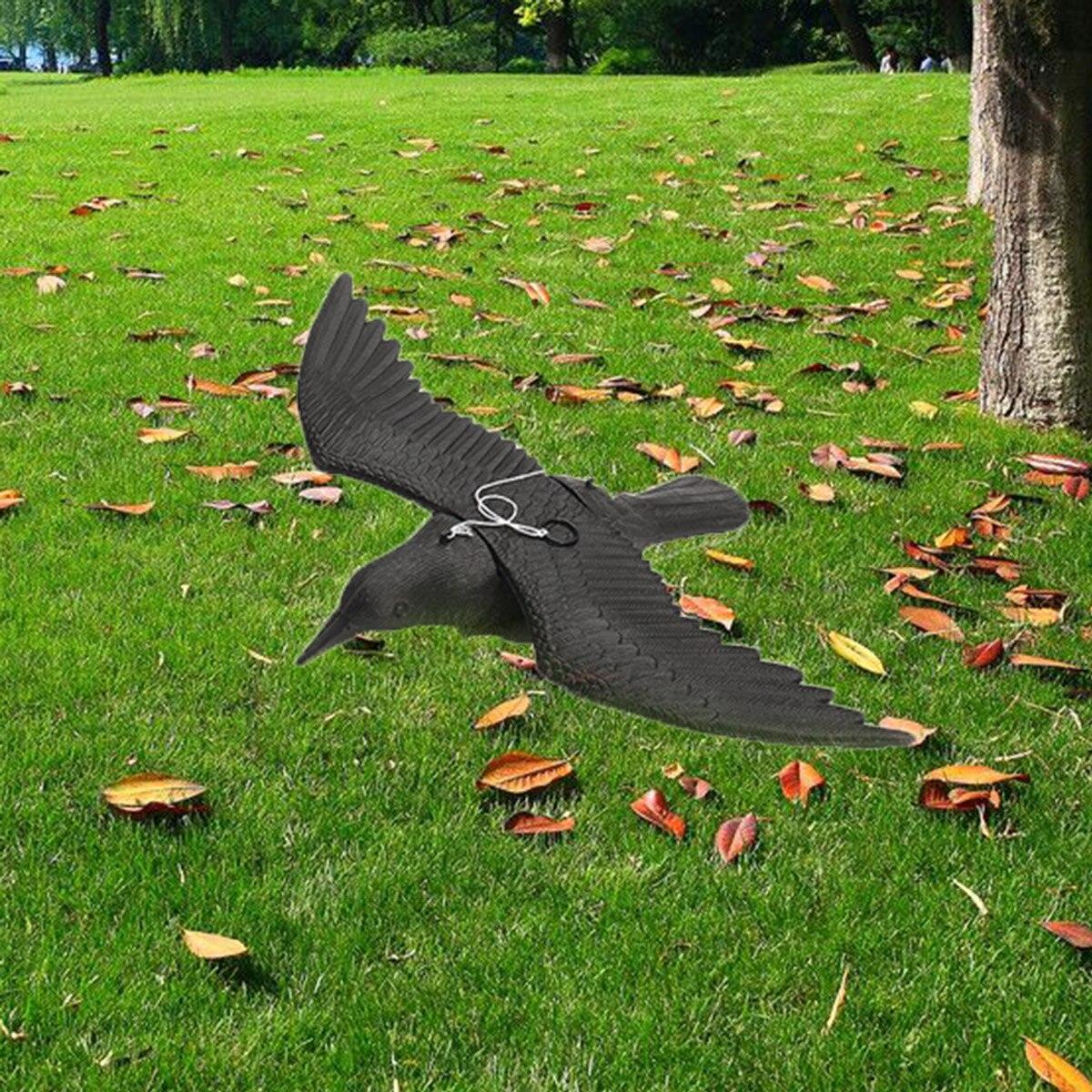 Поддельный Летающий Сокол ястреб охотничья приманка сдерживающий Scarer садовое дерево подвесной декор птица борьба с вредителями отпугивающий подвесной шнур