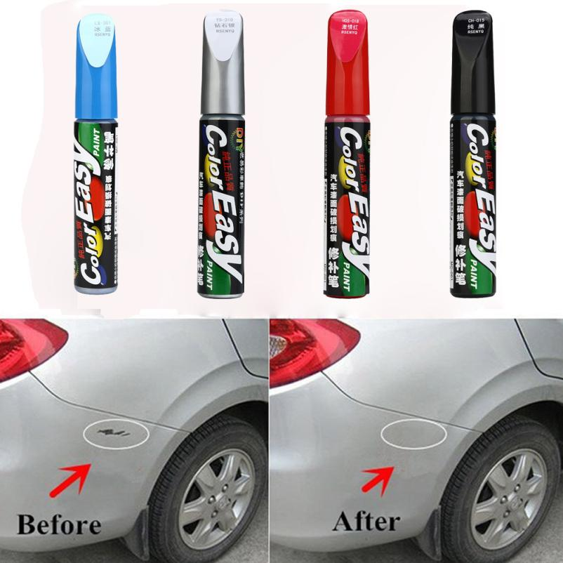 10 Colors Auto Car Coat Paint Pen Touch Up Scratch Clear Repair Remover Remove Tool &Who ...
