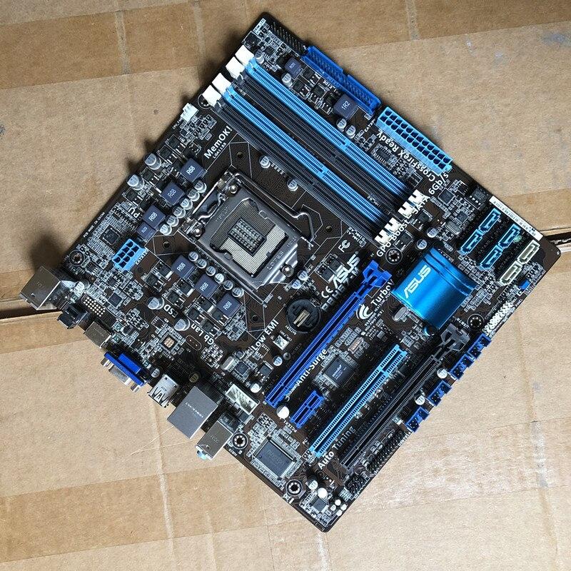 original motherboard for ASUS P8H67-M LGA 1155 DDR3 for i3 i5 i7 32GB USB2.0 HDMI DVI VGA H67 Desktop motherboard Free shipping