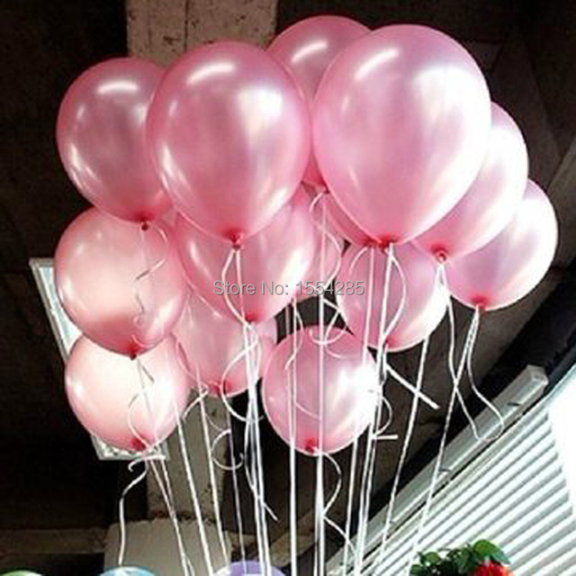 12g helium birthday wedding decoration ballon baby toy pearl pink 12g helium birthday wedding decoration ballon baby toy pearl pink balloon party balloons inflavel casamento junglespirit Choice Image
