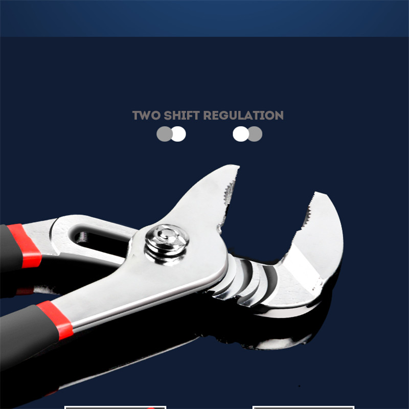 SHINA 1PC Automatic Location Pipe Wrench Adjustable Plumbing Wrench Pipe Vice Universal Wrench Hand Tools in Wrench from Tools