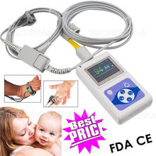 Neonatal Infant Child Pulse Oximeter SPO2 PR Heart Rate Monitor, USB PC Software(China)