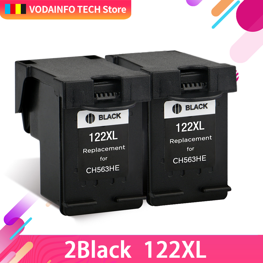 QSYRAINBOW Remanufactured 122XL ink cartridge for hp122 hp 122 xl Deskjet 1510 2050 1000 1050 1050A 2000 2050A 2540 3000 3050
