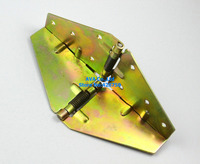 2 Pieces Folding Table Hinge Foldable Extension Table Butterfly Hinge