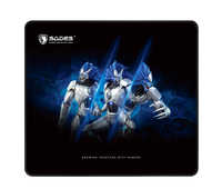 SADES Gaming Mouse Pad Large Size Frost SA-P2(L) Natural Rubber For Shooter FPS Games