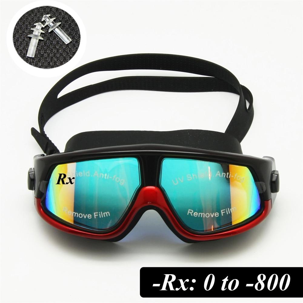 Rx Prescription Swimming Glasses Myopia Optical Swim ...