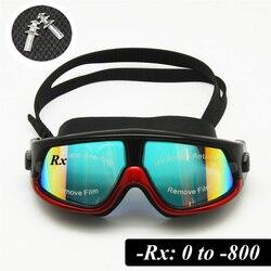 Lunettes de ski UV400anti-buée avec objectif Sunny Day et nuageux Jour Options de lentille, snowboard Lunettes de soleil à porter par RX Lunettes, bleu