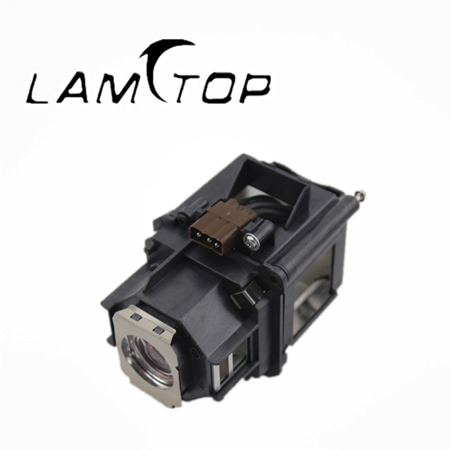 FREE SHIPPING  LAMTOP  180 days warranty  projector lamps with housing  ELPLP46/V13H010L46  for  EB-G5200 slovo g ten days