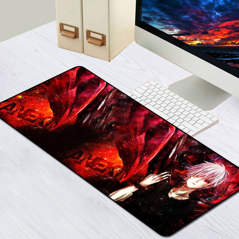 Sovawin Rubber <font><b>Mouse</b></font> Mat Gaming <font><b>Mouse</b></font> <font><b>Pad</b></font> Anime Tokyo Ghoul <font><b>Large</b></font> <font><b>XXL</b></font> Mousepad Gamer Speed Locking Edge Computer <font><b>Pads</b></font> Customized image