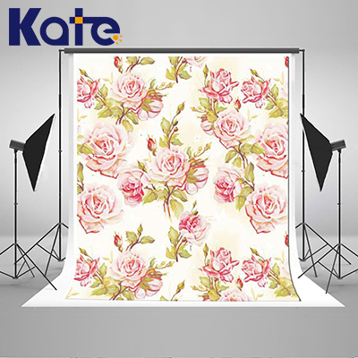 Kate Flower Wall  Backdrop Wedding Backdrops For Photography Photography Backdrops Seamless Customize Photo For Studio Custom wholesale seamless wedding wall nail strengthen invisible traceless photo hanging hook painting