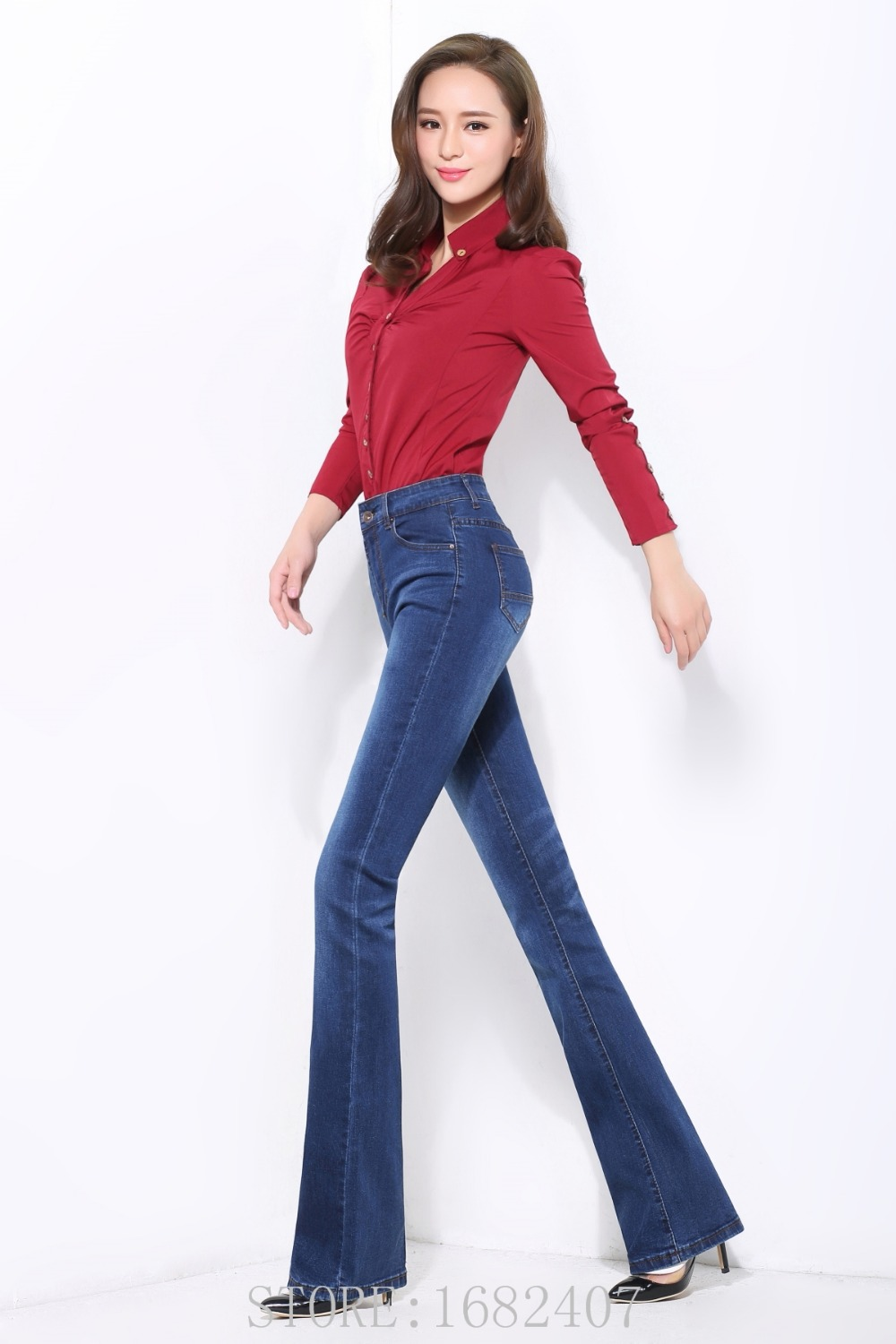 Online Buy Wholesale business casual women jeans from ...