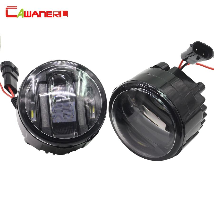 Cawanerl для Infiniti M35h 2012 автомобилей Интимные аксессуары LED слева + правый туман свет DRL дневные Бег лампа 12 В 1 пара