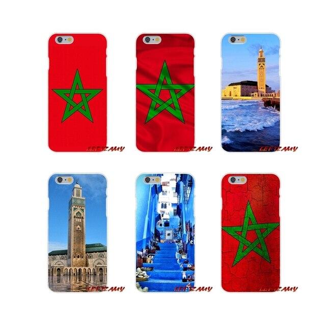 Morocco Ma-rốc Cho Huawei P Thông Minh Người Bạn Đời Y6 Pro P8 P9 P10 Nova P20 Lite Pro Mini 2017 Phụ Kiện Điện Thoại vỏ Bao Gồm
