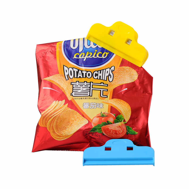 Bag Clips Food Snack Seal Clip Milk Food Bag Clip Plastic Bag Seal Seal Clip Coffee Seal