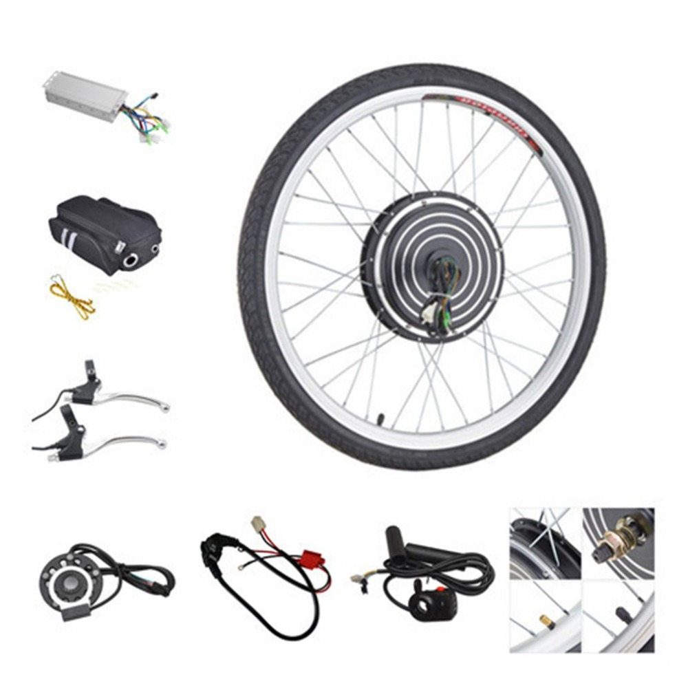 Professional Electric Bike Conversion Kit E BIKE 48V 1000W Bicycle Hub Motor Wheel for 24 inch Rear Wheel Motor