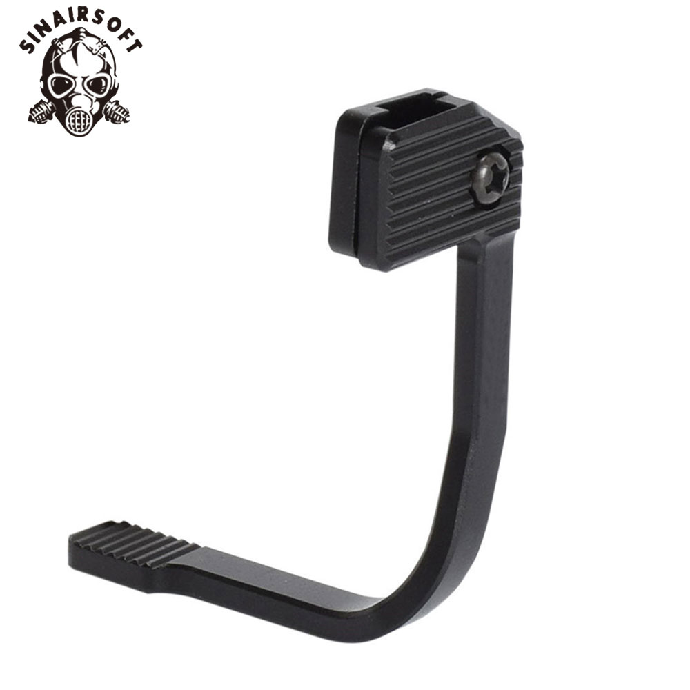 Tactical BAD Aluminum Alloy Enhanced MAP Bolt Catch Extender Release Lever Side Plate For M4/M16 Paintball Shooting Accessories