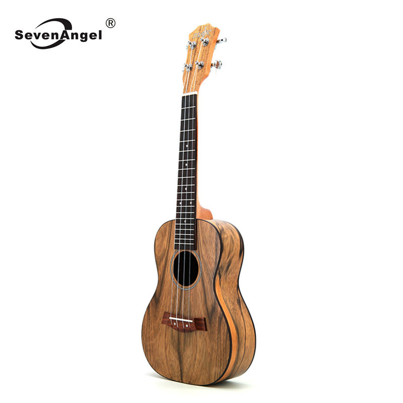 SevenAngel 23 Inch Concert Ukulele Walnut Material Hawaii Travel Mini Guitar High-grade Ukelele