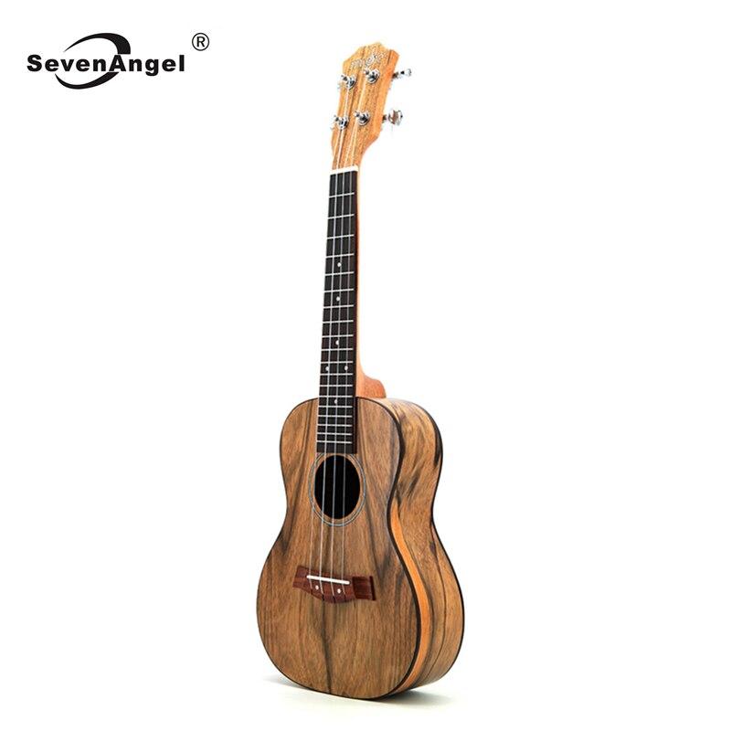 SevenAngel 23 pouces Concert ukulélé noyer matériel Hawaii voyage Mini guitare Ukelele de haute qualité
